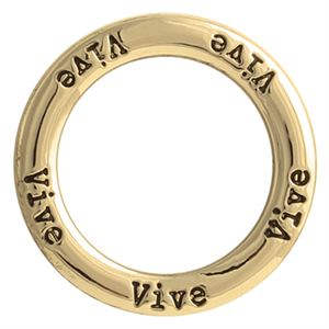 Picture of 'Vive' Large Gold Frame